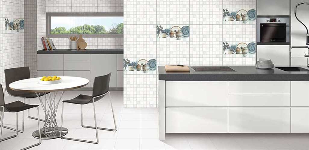 Tiles selection for kitchen and room